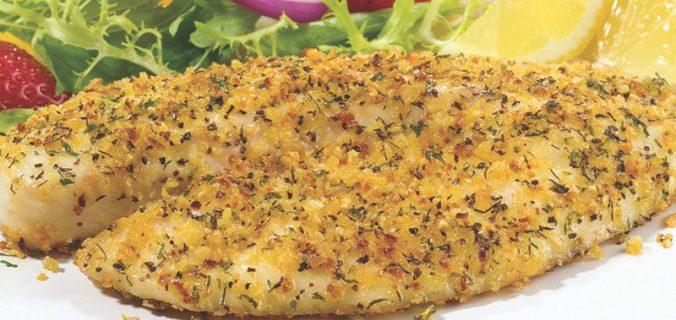 Lemon Seasoned Fish