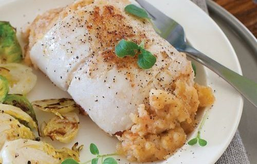 sole with crabmeat