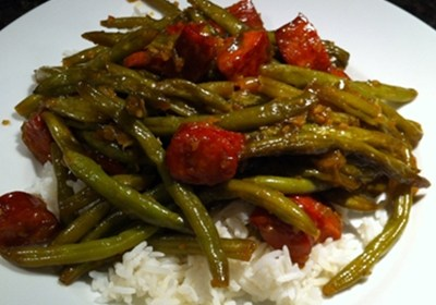 Piquant Green Beans