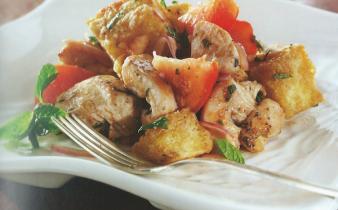 Balsamic Chicken Panzanella