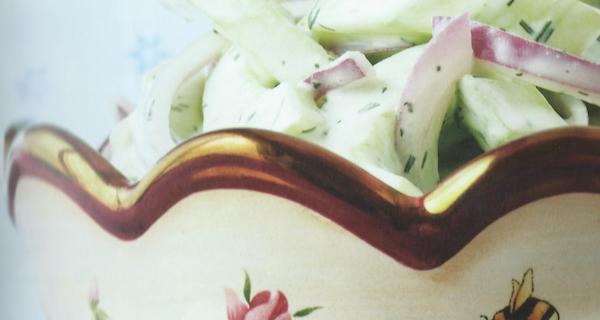 Cucumber Dill Salad