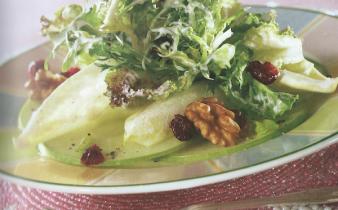 Remove term: Apple Walnut Salad with Creamy Cider Dressing Apple Walnut Salad with Creamy Cider Dressing