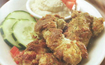 Falafel-Crusted Chicken