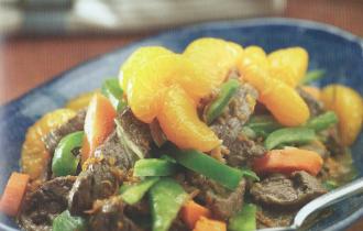 Mandarin Orange Beef