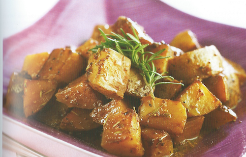 Braised Potatoes and Shallots