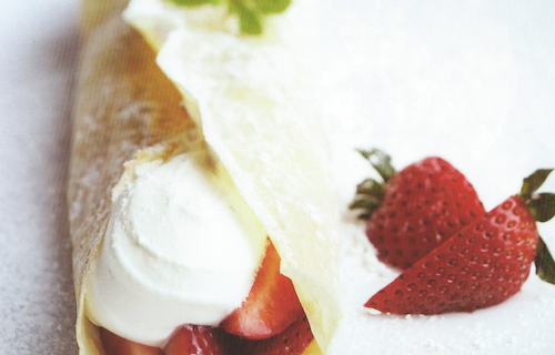 Delectable Dessert Crepes