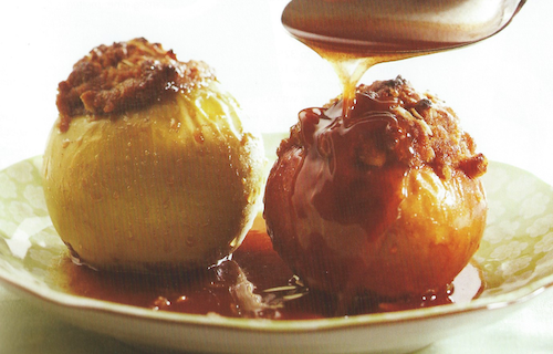 Streusel-Stuffed Baked Apples