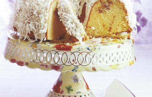 Orange-Coconut Cake